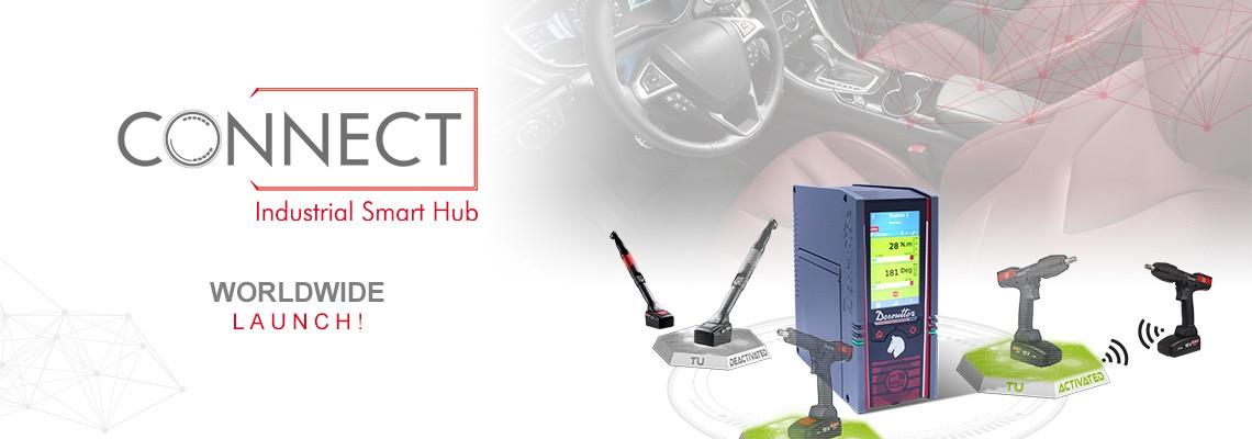 데소터의 새로운 산업용 스마트 허브, CONNECT를 소개합니다.