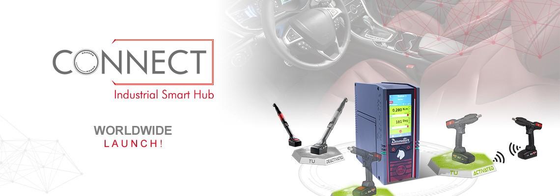 데소터의 산업용 스마트 허브, CONNECT를 소개합니다!