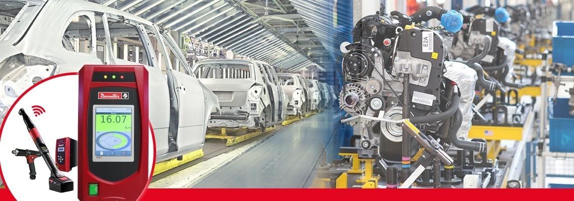 데소터의 CVI3 제품군은 효율적인 체결을 위한 가장 강력하면서도 유연한 트렌듀서 핸드헬드 공구로 구성되어 있습니다.