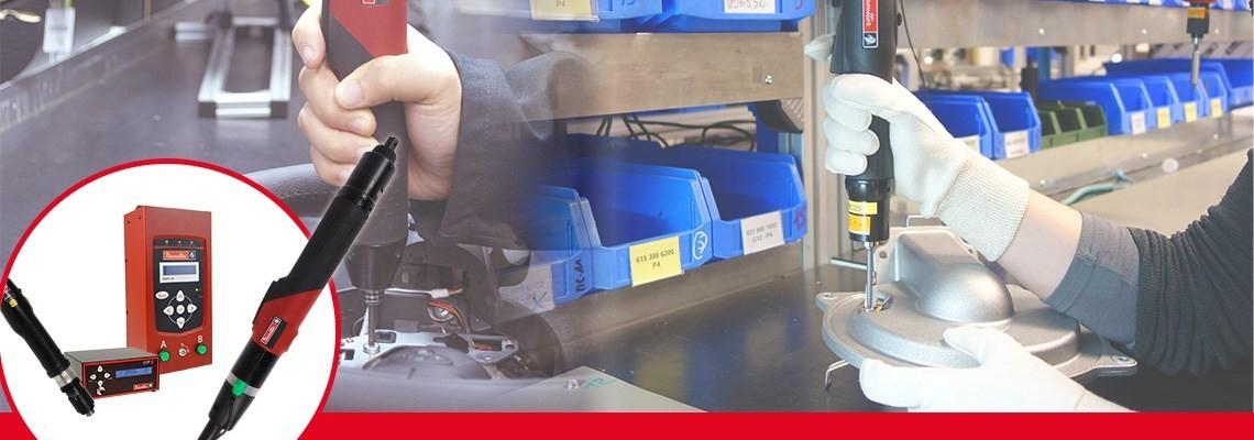데소터의 SLBN과 SLC 공구 제품군을 확인하세요. 두 개의 광범위한 전동 스크류 드라이버 제품군은 높은 생산성을 위해 제작되었습니다.