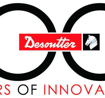 데소터 100주년 기념 로고
