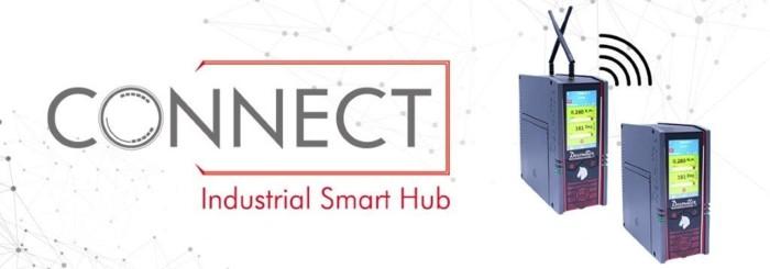 새로운 산업용 스마트 허브, CONNECT를 체험하세요!